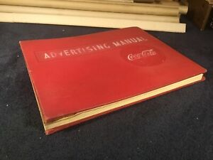 Coca Cola Advertising Manual - Gigantic and Heavy - Very Cool
