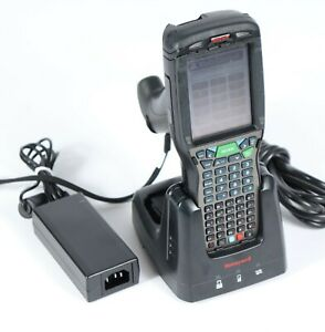 Honeywell Dolphin 99gxl0 Handheld Pc Mobile Computer Barcode Scanner W cradle