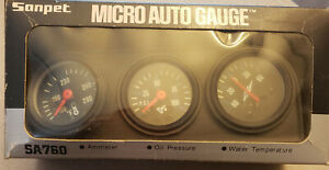 Vintage Mini Auto Gauges