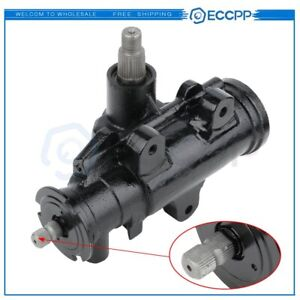 Complete Power Steering Gear Box For 2005 2008 Ford F 250 Super Duty Pickup