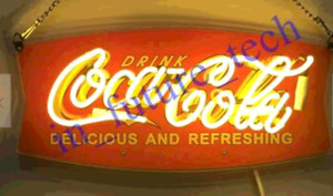 New Style Drink Coca Cola Lamp Sign 14