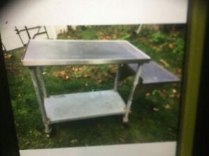 Stainlees Steel Table Commercial