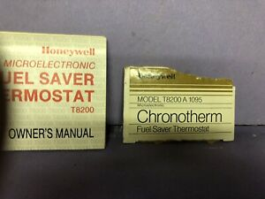 Honeywell Microelectronic Chronotherm Thermostat T8200a1095