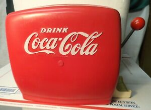 TOY COCA-COLA DISPENSER FROM THE 1950`S