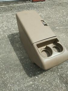 1988 1994 Chevy Silverado Gmc Sierra 1500 2500 3500 Center Console Tan Oem