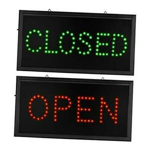 Open Closed Signs For Business Led Open Closed Sign Motion Light Sign On off Swi