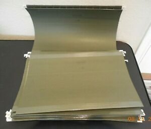 Hanging Folders Standard Green 20 bx Legal Size Staples Brand