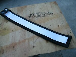 1967 1968 67 68 Original Mustang Overhead Console Coupe Black