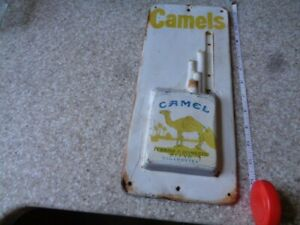 Vintage Camel Cigarette Thermometer Sign - Rustic - Restore Project