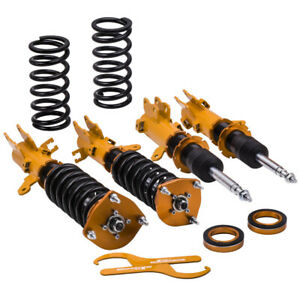 Coilovers Kit For Hyundai Tiburon Gs Coupe 2 door 2005 2008 Adj Height Shocks