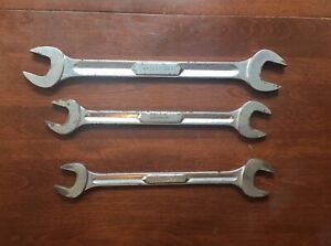 Snap On Open End 4 Way Wrench Lot Vs3032 Vs262b Vs2428