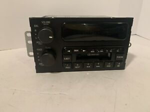 Ac Delco Electronics 16201164 Oem Am Fm Radio Cassette Tape Player Gm Buick