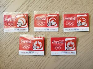 2012 Coca Cola Olympic Pin Set Safeway/Vons