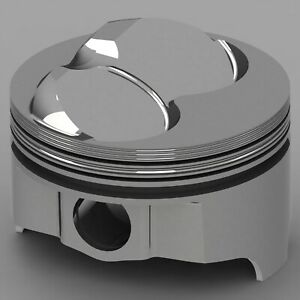 Icon Forged Piston Set Fits Chevy 383 Rod 5 700 Hollow Dome 13cc 2v
