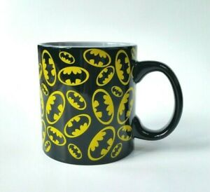 DC Comics Batman Coffee Mug 20 Oz. Oversized Black Official EUC