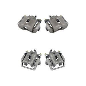 Front And Rear Brake Calipers For 1999 2003 Acura Tl 2001 2003 Acura Cl