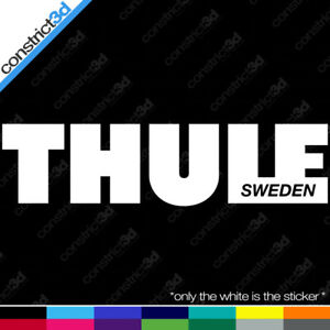 X2 Thule 8 X2 Vinyl Decal Pick Color Ski Snowboard Bike Roof Rack Deflector