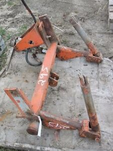 Allis chalmers 3 point Arm With Cylinder Tag 295
