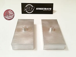 sr 1 Billet Rear Lift Blocks Kit For Tacoma Sierra 1500 Tahoe Nissan Frontier
