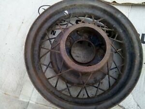 Fomoco Ford Rim Wheel 1935 16 Inch Wirewheel 35 Hot Rod Rat Old School 5 1 2