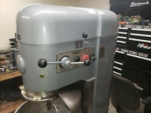 Hobart 80 Qt M802 Mixer 3 Hp With Safety Cage