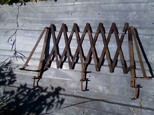 Vintage 1920s 1930s Running Board Luggage Rack Fits Model T Model A