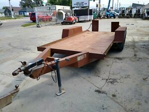 Tandem Axle Trailer 6 x15 Good Condition With Adjustable Ramps