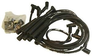 Msd 5567 kit Spark Plug Wire Set Street Fire Black 8mm For Big Block Chevy