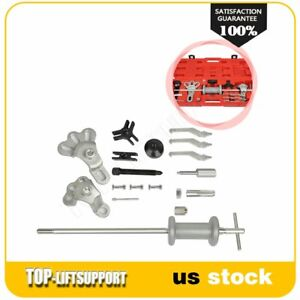 Slide Hammer Dent Puller Tool Wrench Adapter Axle Bearing Hub Auto Set