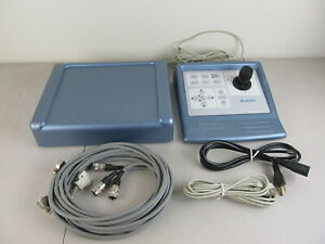 Clemex Js 2000 Microscope Motorized Stage Controller And Interface W Cables