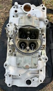 Edelbrock Intake Manifold And Holley Carburetor