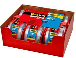 Heavy duty Shipping Packaging Tape roll With Dispenser 1 88 X 800 Inches