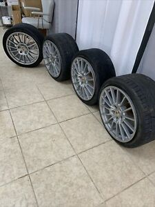 Oem 20 Porsche Panamera Turbo Factory Wheels Rims Set Forged W Tires Preowned