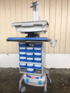 Capsa Healthcare Mobile Medical Cart With Computer Mount free Ship Within 200 Mi