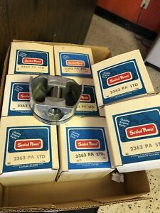 Set Of 8 Pistons For 1971 1980 Gmc W 350 2363pa Std