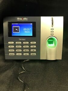 Ta100c Fingerprint Time Clock
