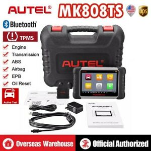 Autel Maxicom Pro Mk808ts Obd2 Car Diagnostic Scan Tool Key Coding Tpms Program