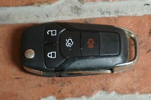 2013 2016 Ford Fusion 2 5l L4 Gas 4 Button Ignition Remote Flip Key Fob Oem