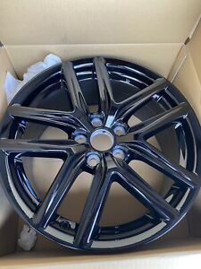 18 Lexus Is250 Is300 Is350 Fsport Black Oem Wheel Rim Front 74292 42611 053460