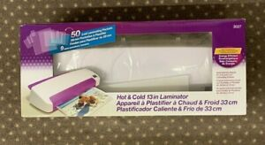 Purple Cows Hot And Cold Laminator 13 inch With 50 Hot Pockets model 3027