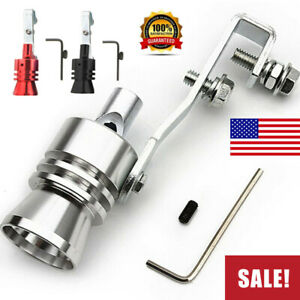 Universal Turbo Sound Exhaust Muffler Pipe Whistle Car Oversized Roar Maker