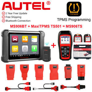 Autel Maxisys Ms906bt Car Diagnostic Scan Tool Ts501 Tpms Programming As Ms906ts