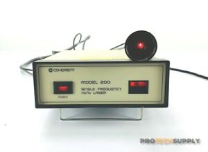 Coherent Model 200 Single Frequency Hene Laser With Warranty