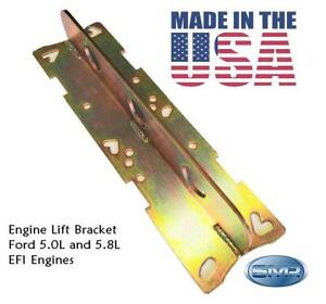 Ford Engine Lift Plate Ford 5 0l 5 8l Efi Intakes Made In The Usa