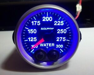 Autometer 5656 Elite 2 1 16 Water Temperature Gauge 7 Color Full Dial Warning