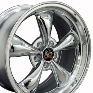 18 Replacement Wheel For Ford Mustang 1994 2006 Chrome Wheel 8181835