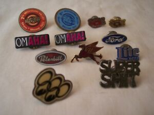 2 Vintage Style Hat Pins Chevy Ford Pontiac Rat Rod Hot Street Vintage Buick