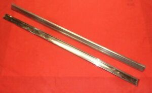 1950 Mercury Stainless Door Trim Molding Pair Lh Rh 4 Door 1951 1949 Kustom