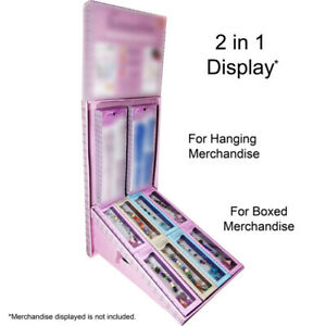2 In1 Corrugated Cardboard Retail Store Counter Table Pop Display Merchandiser