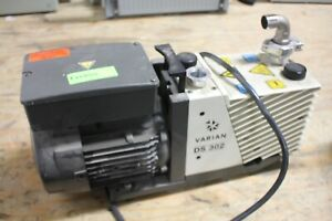 Varian Ds 302 Vacuum Pump Working